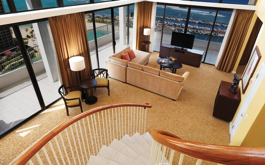 Hilton Grand Vacations Club at Hilton Hawaiian Village Waikiki Beach Resort Timeshares