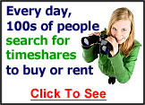 Timeshare Searches